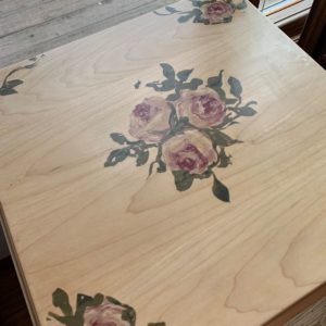 oak maple stand floral