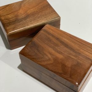 black walnut box