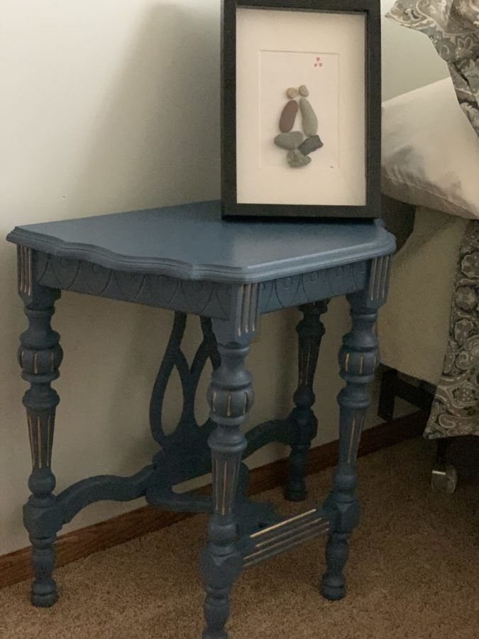 Blue painted Hall Table